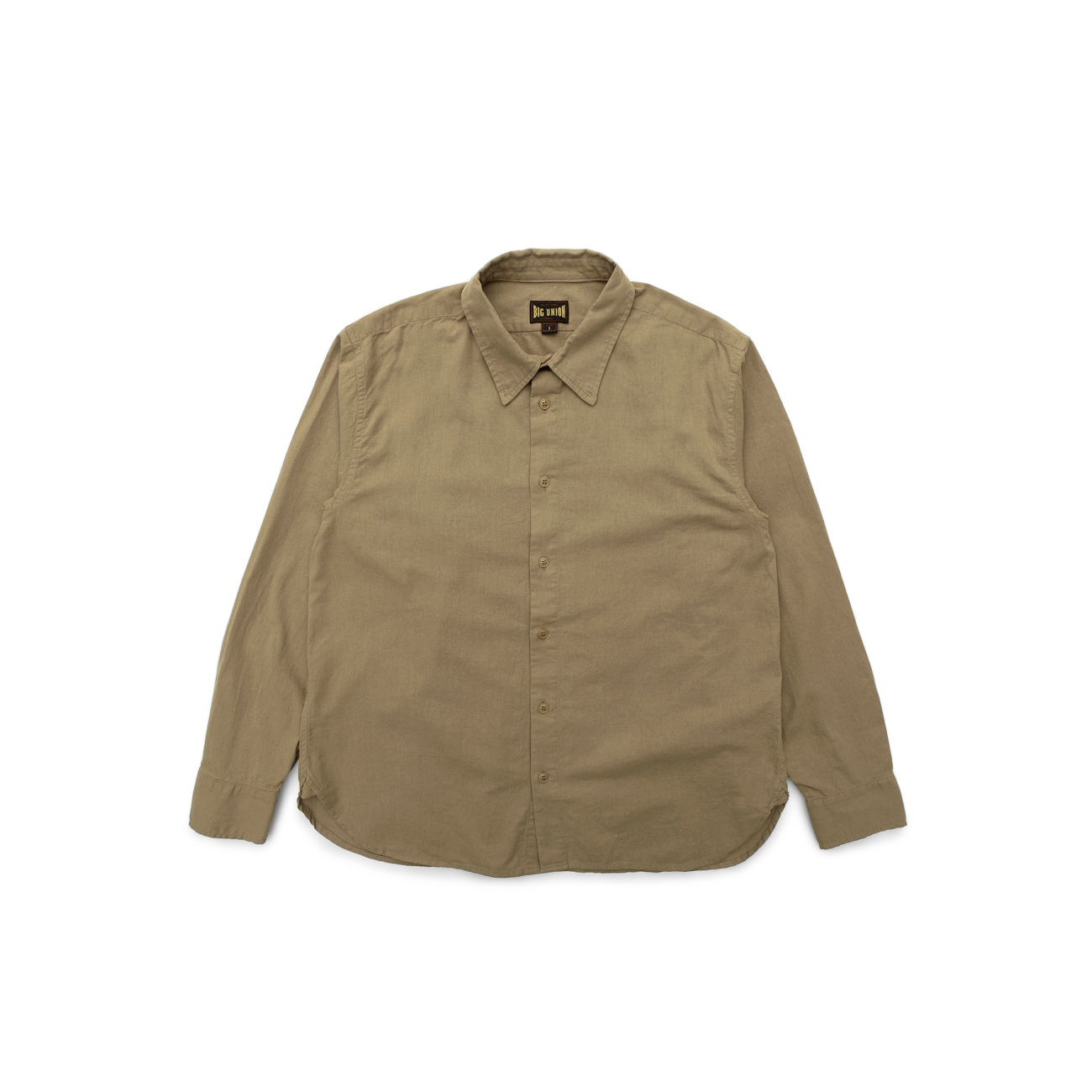 Heavy Linen Regular Shirt