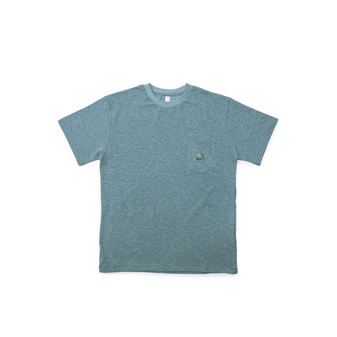 BU x East Oklm Slub Pocket Tee