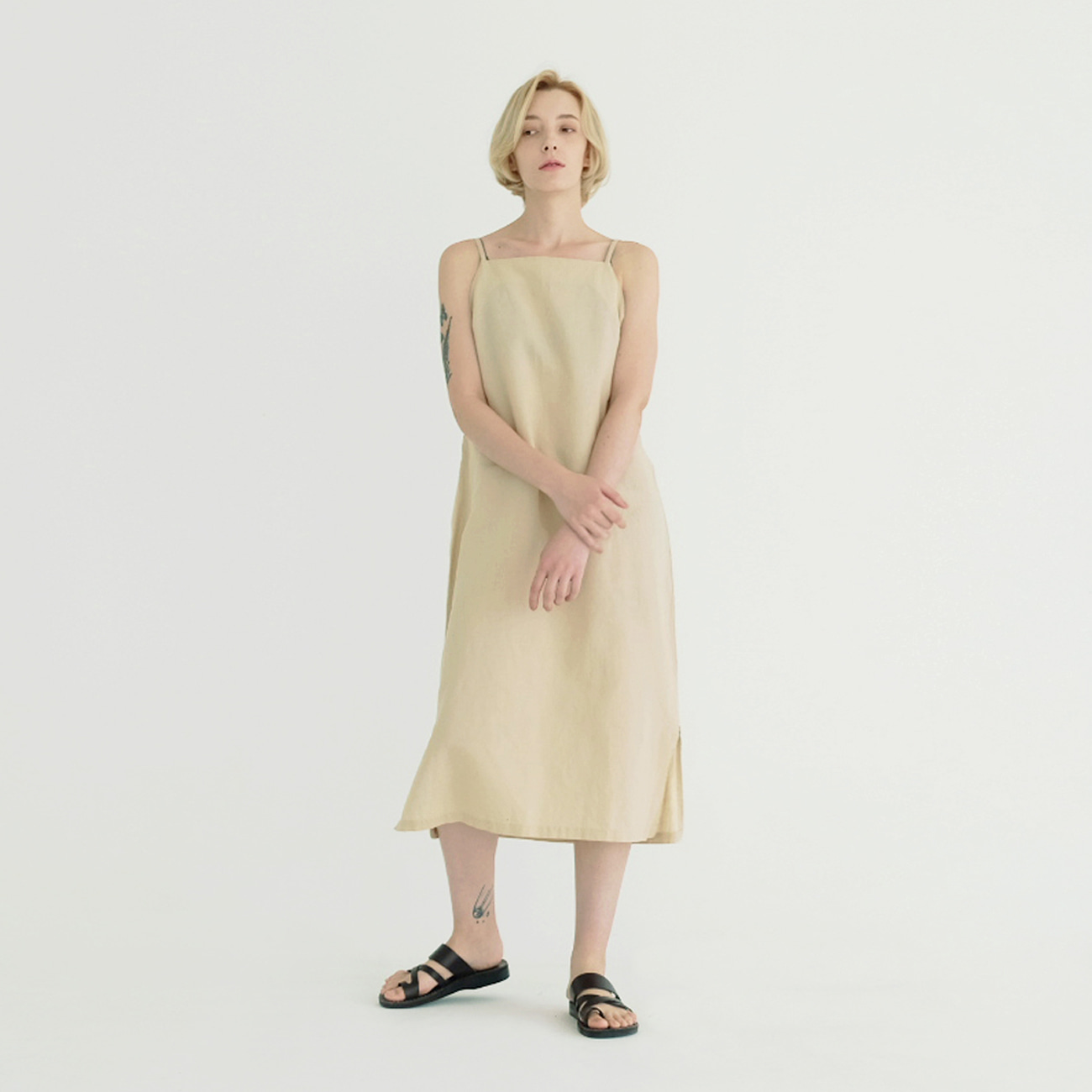 Linen CC One Piece